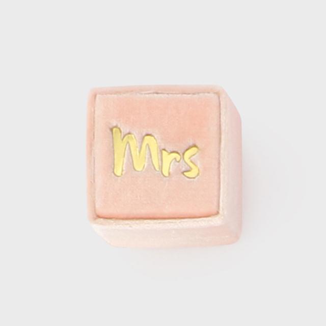 THE MRS.BOX(ザ・ミセスボックス)クラシックサイズ「mrs」NORAH MAE(サーモンピンク)
