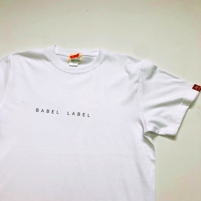 【受注生産】SMALL  LOGO BABEL TEE