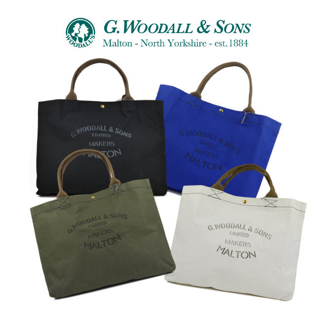 #2034 POPPER Tote Bag 【G.WOODALL & SONS】