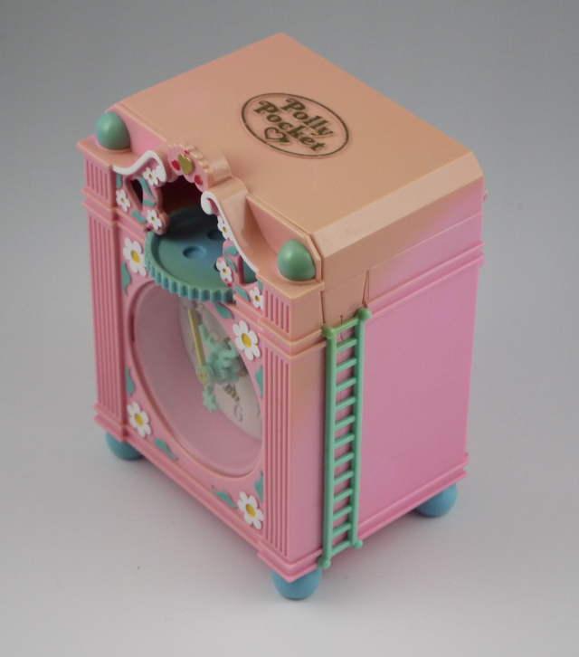 ファンタイムクロック 1991年 ピンクの時計