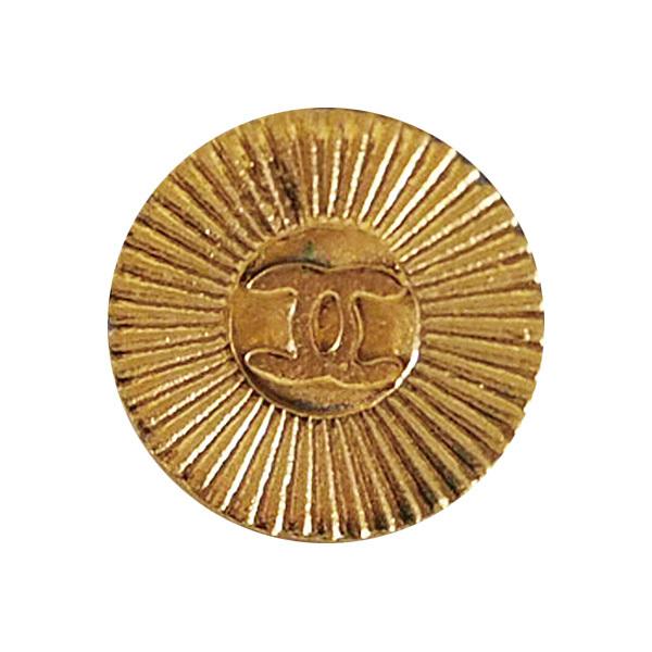 【VINTAGE CHANEL BUTTON】ゴールド ココマーク ボタン (小)