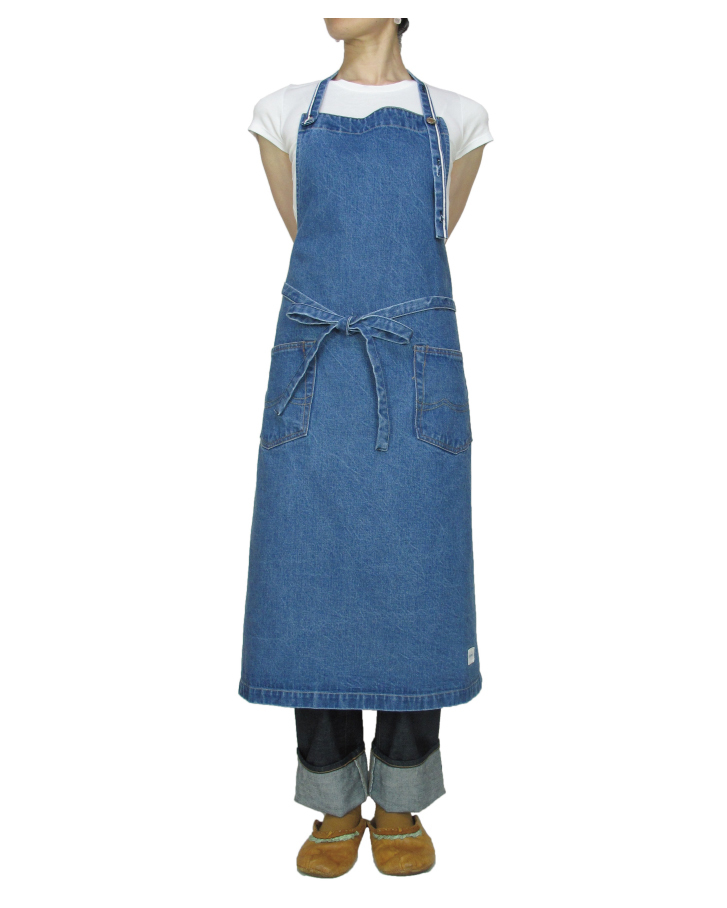denim apron - 画像1