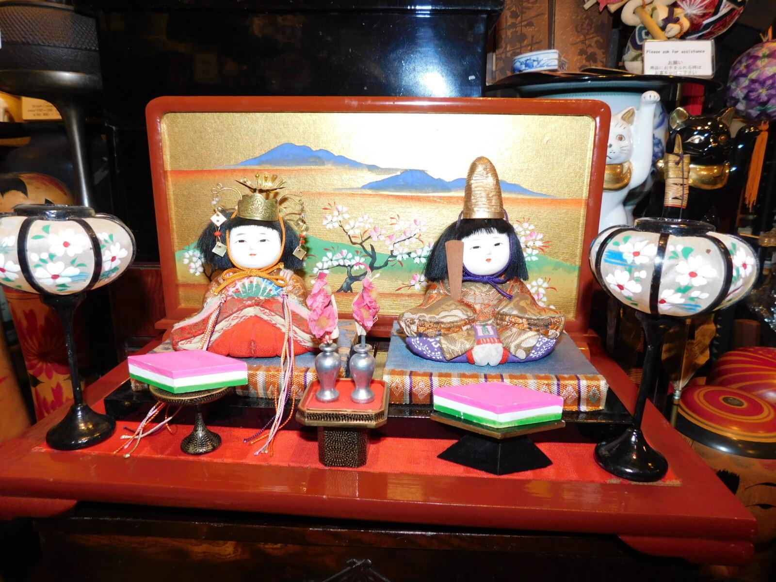 木目込みお雛様Hina dolls(Girl Festival on March)(No13)