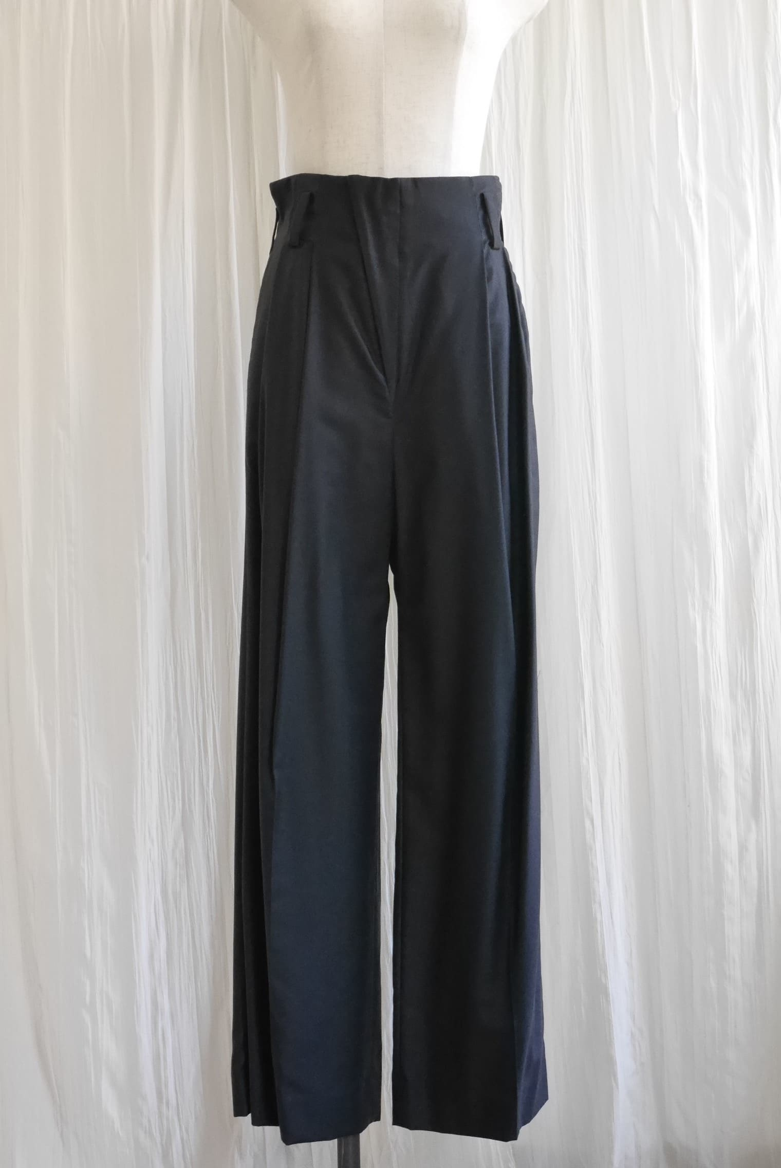 COTTON CUPURA DRESS PANTS