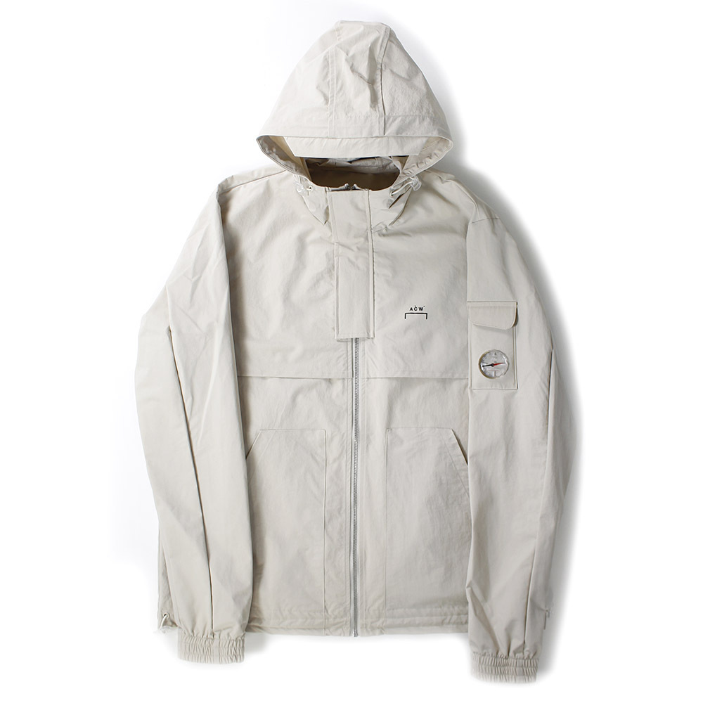 A COLD WALL Hooded Blouson Beige
