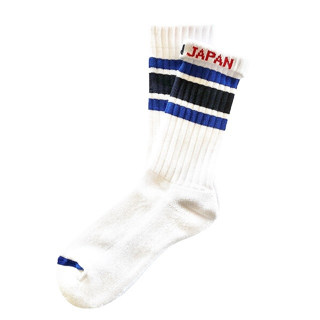 """NEW SKATER -blue- "" Socks"
