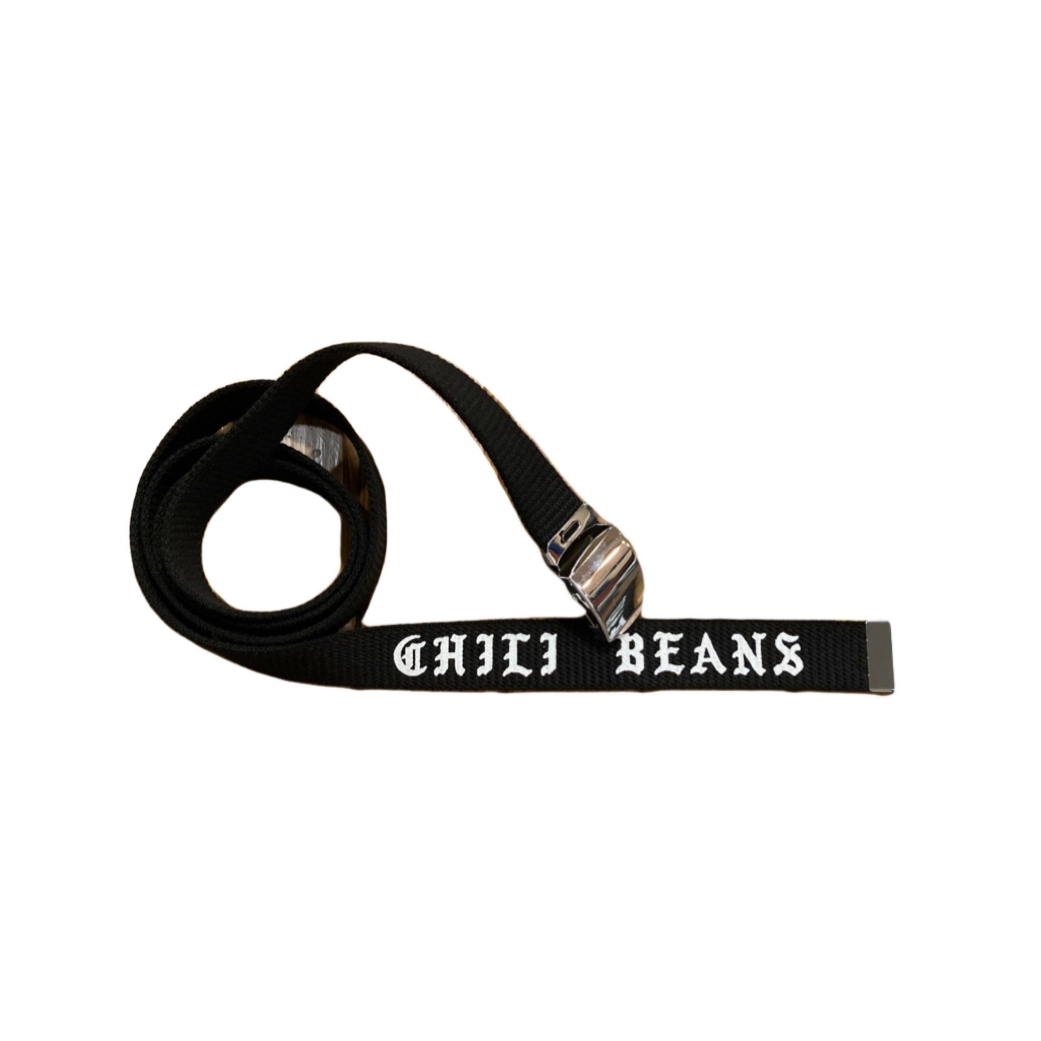 CHILI BEANS #Casual Belt Black