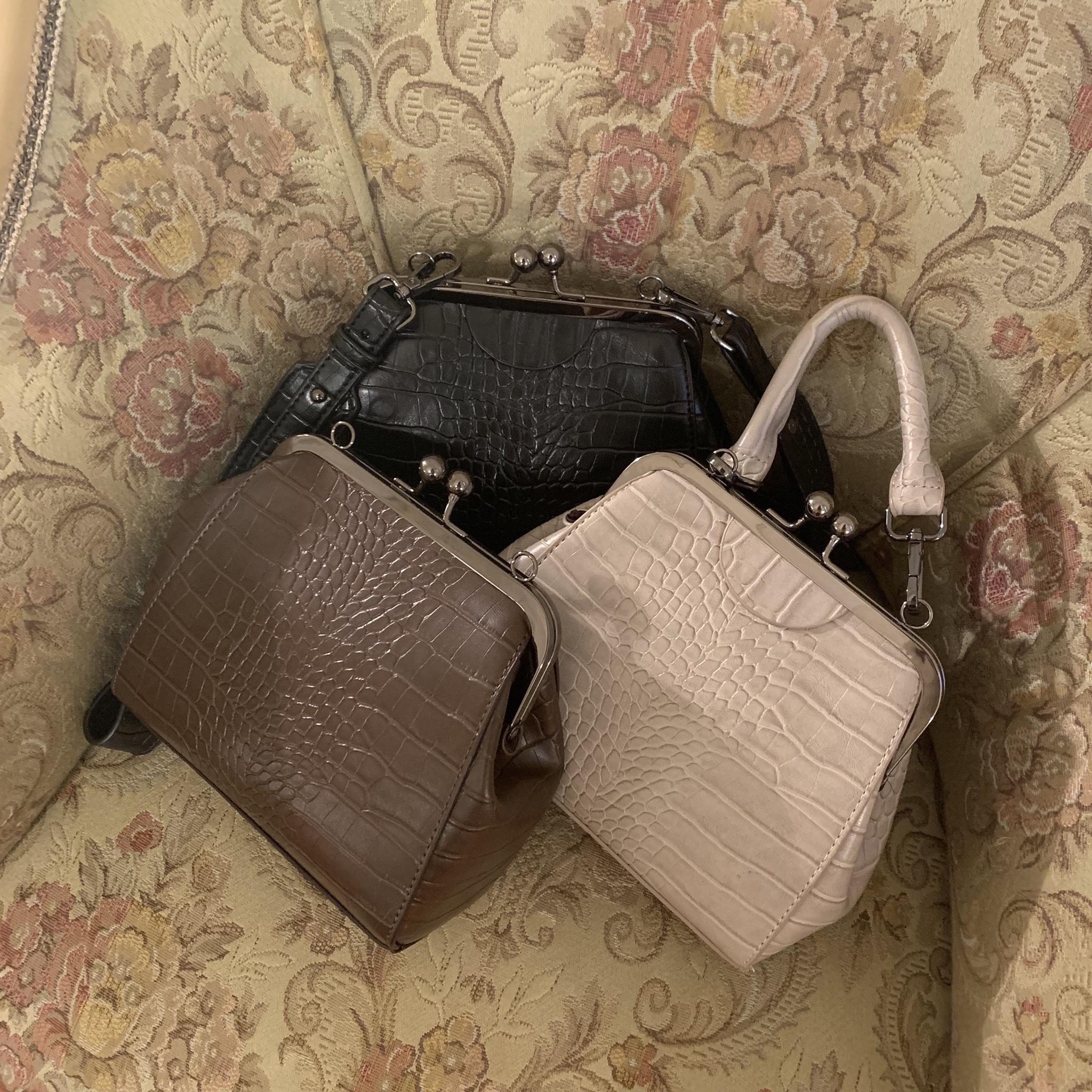 crocodile mini bag