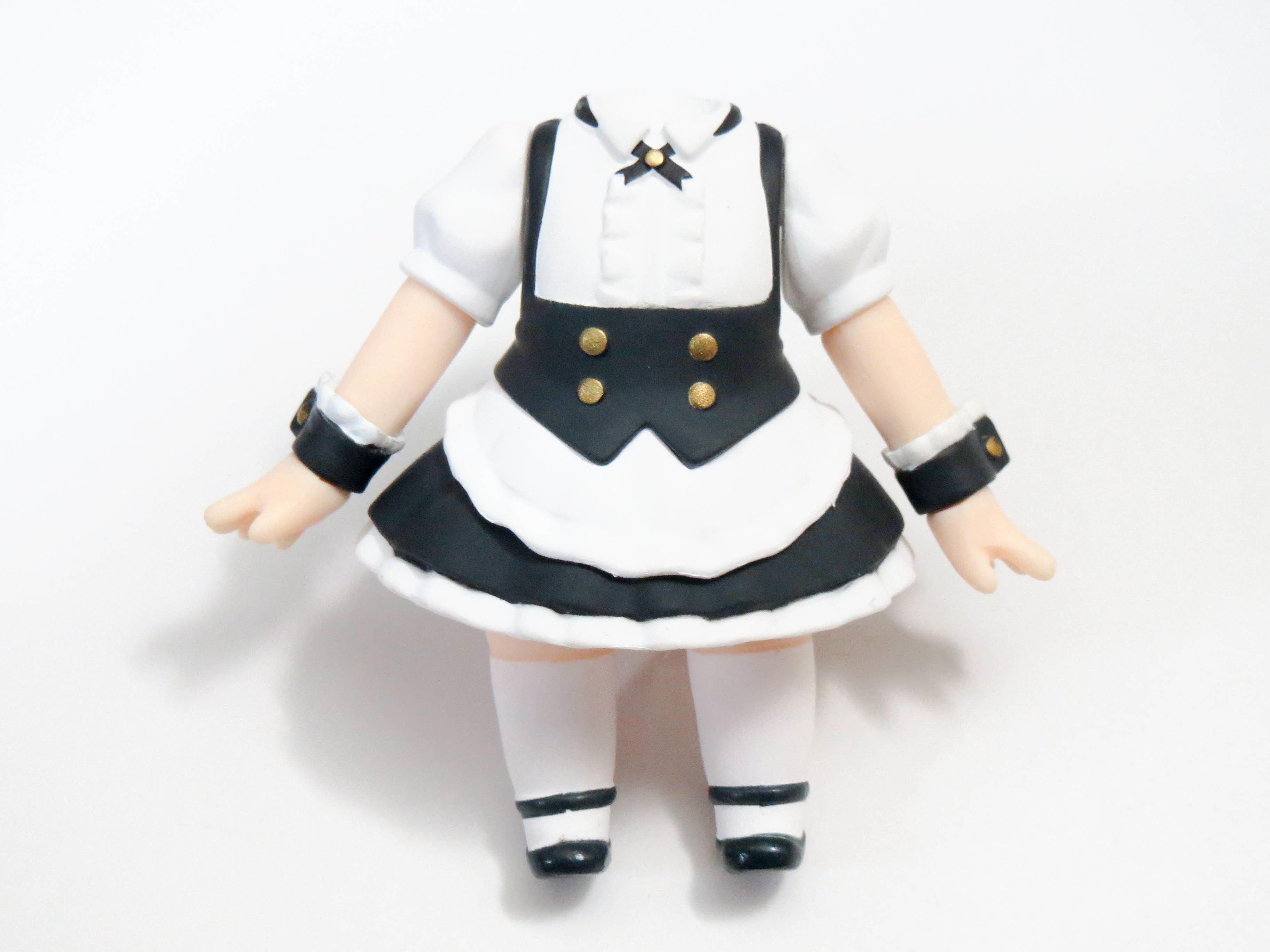 【929】 シャロ 体パーツ メイド服 ねんどろいど