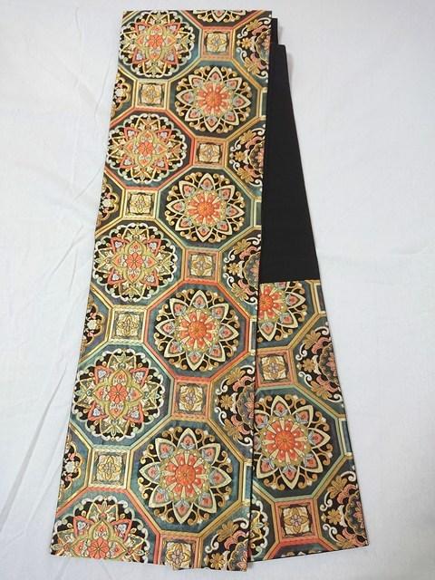 唐織六通の袋帯
