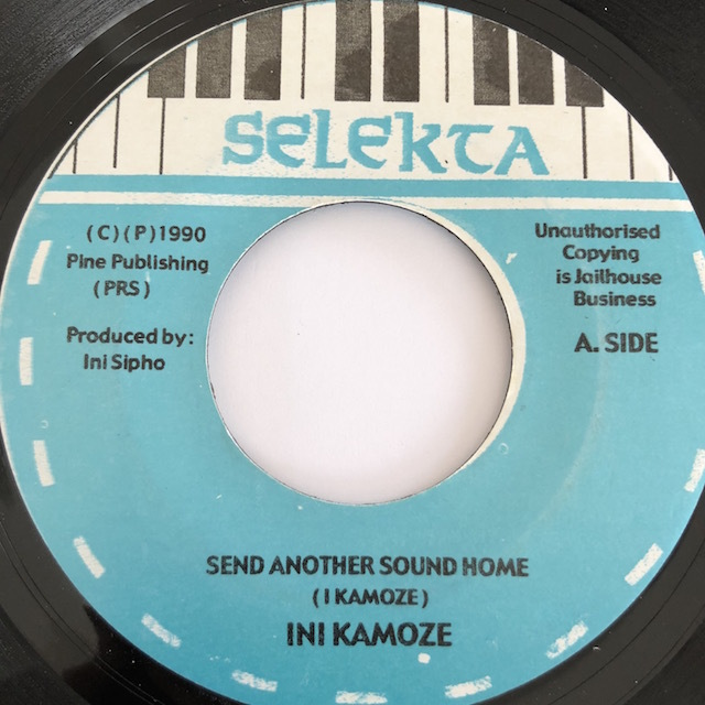 Ini Kamoze(アイニカモーゼカモーゼ) - Send Another Sound Home【7'】