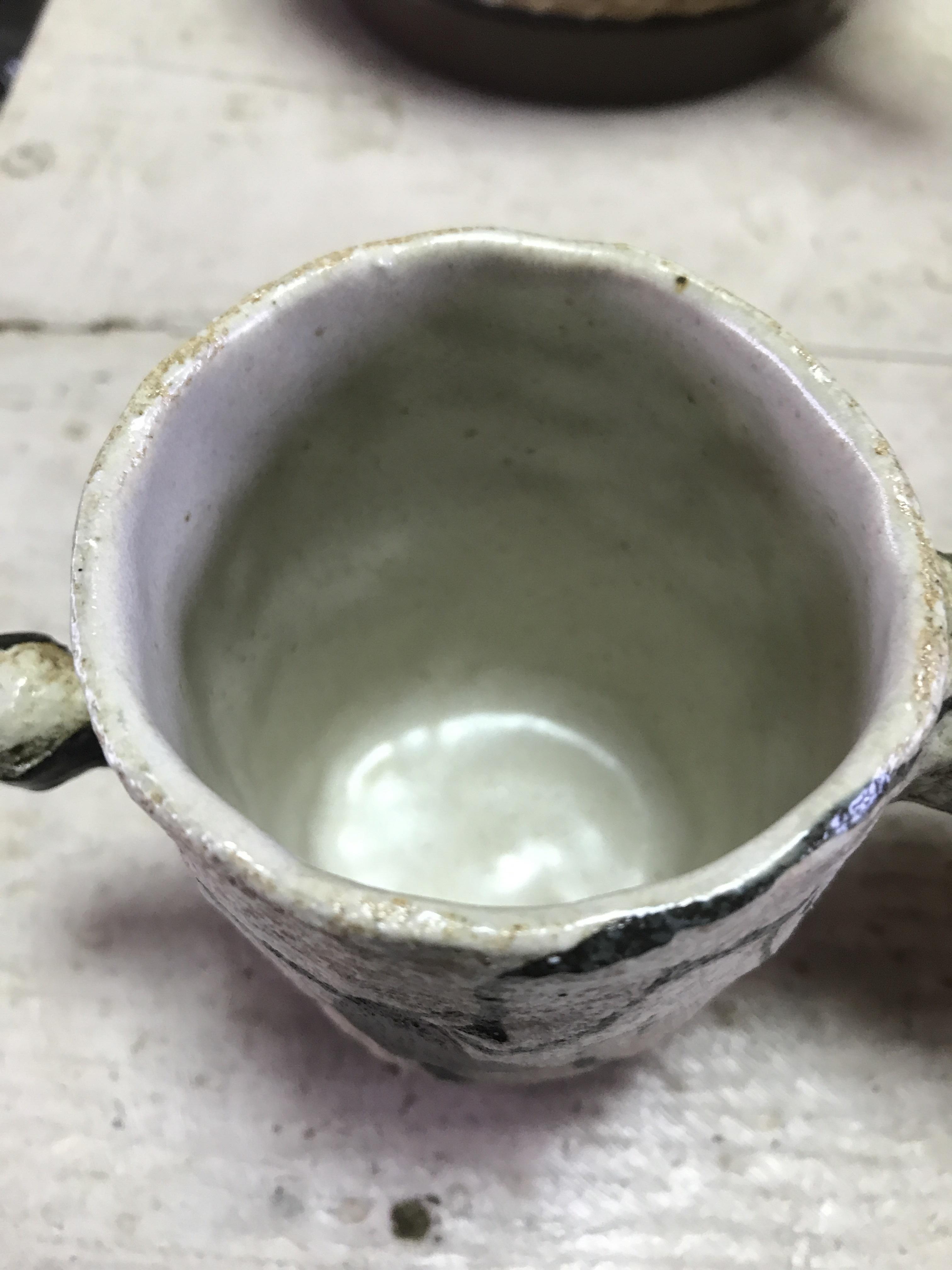 タナベヨシミ レスラーマグカップ ①