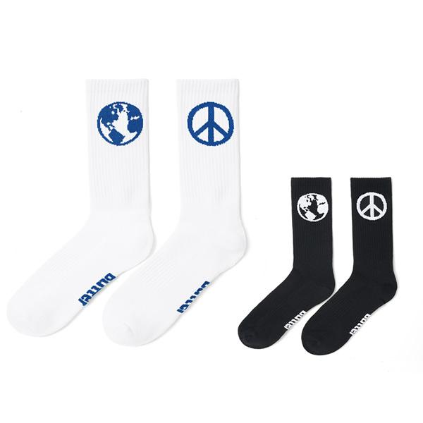 BUTTERGOODS World Peace Socks
