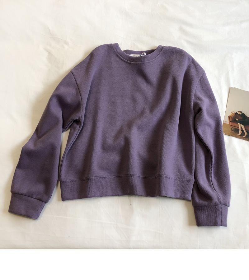 アイシクルカラーのショート丈セーター【icycke color short sweater】