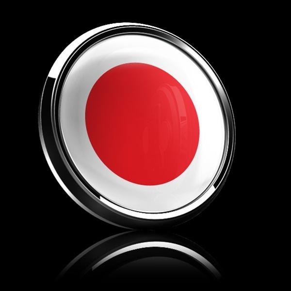 ゴーバッジ(ドーム)(CD0190 - FLAG JAPAN) - 画像2