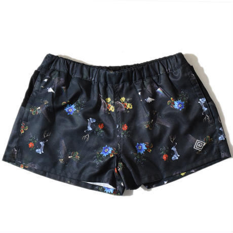 ELDORESO / Glory Dagger Shorts《Black》