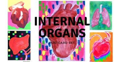 Postcard set / Internal Organs