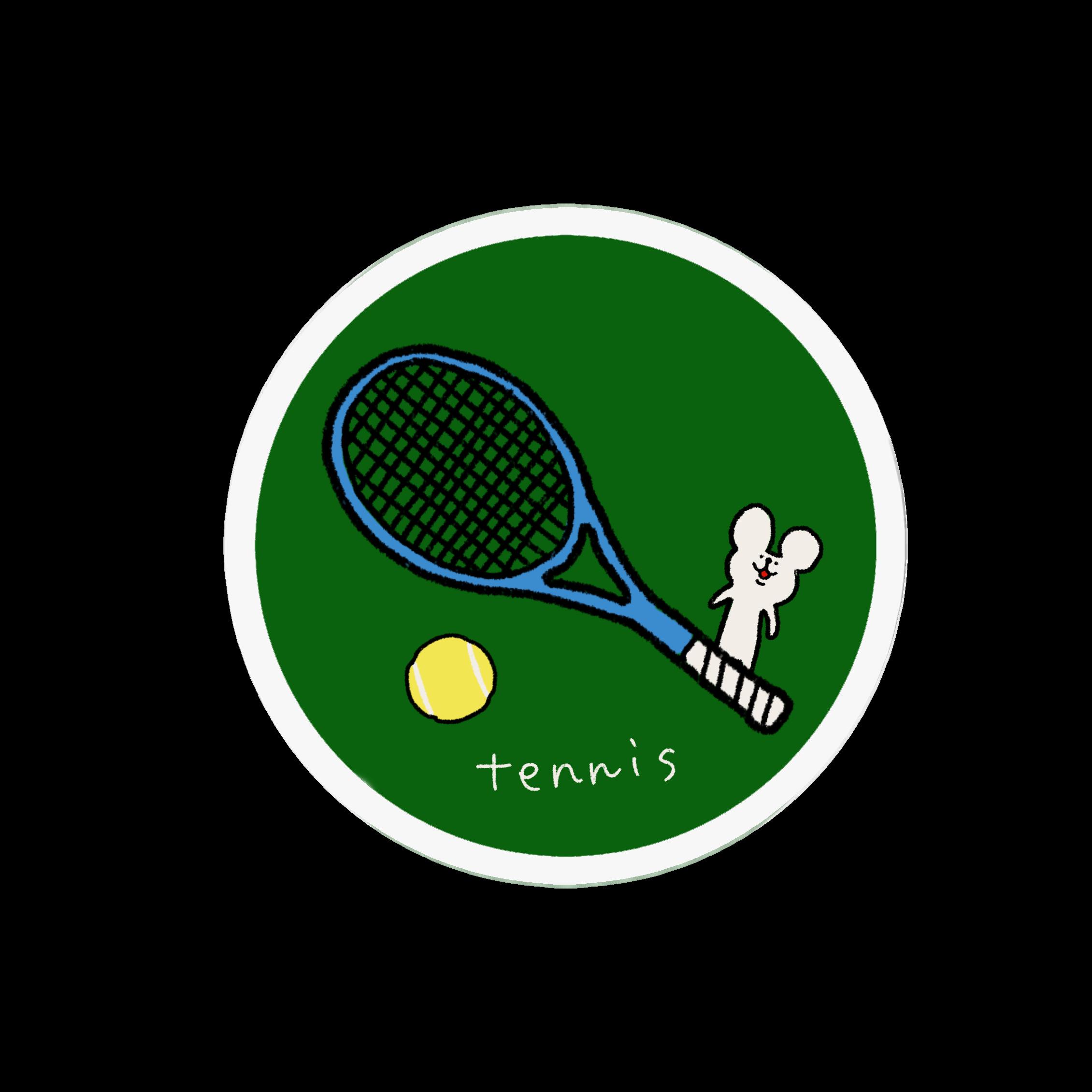 アクリルバッジ|テニスが好きなあなたへ