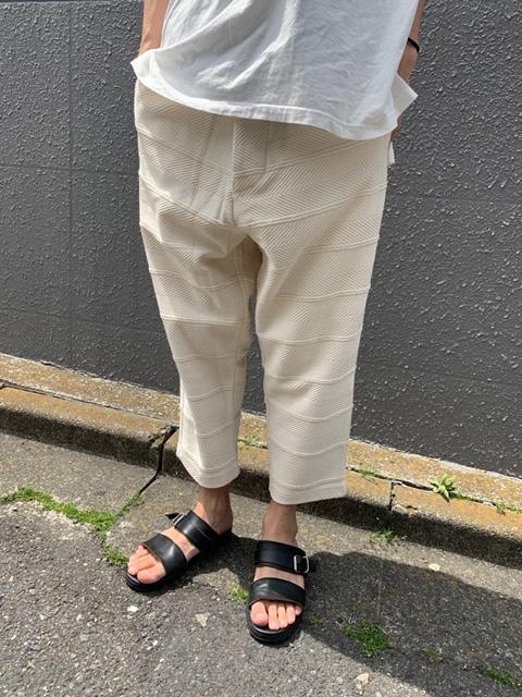 HERRINGBONE JACQUARD PANTS