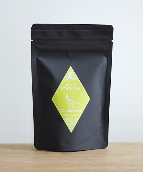 【chabashira】緑茶アイスティー 天竜強火(茶葉 60g)