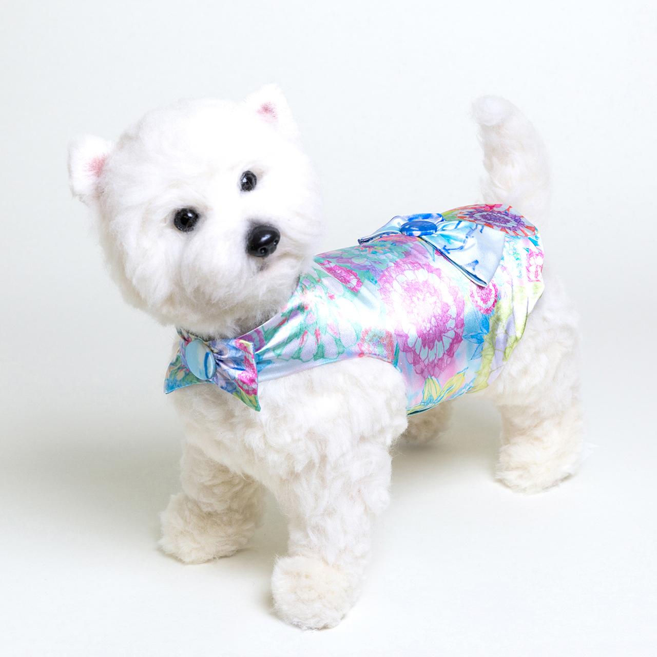 jibun-fuku DOG 【バック・リボンドレス】DOGBR201803
