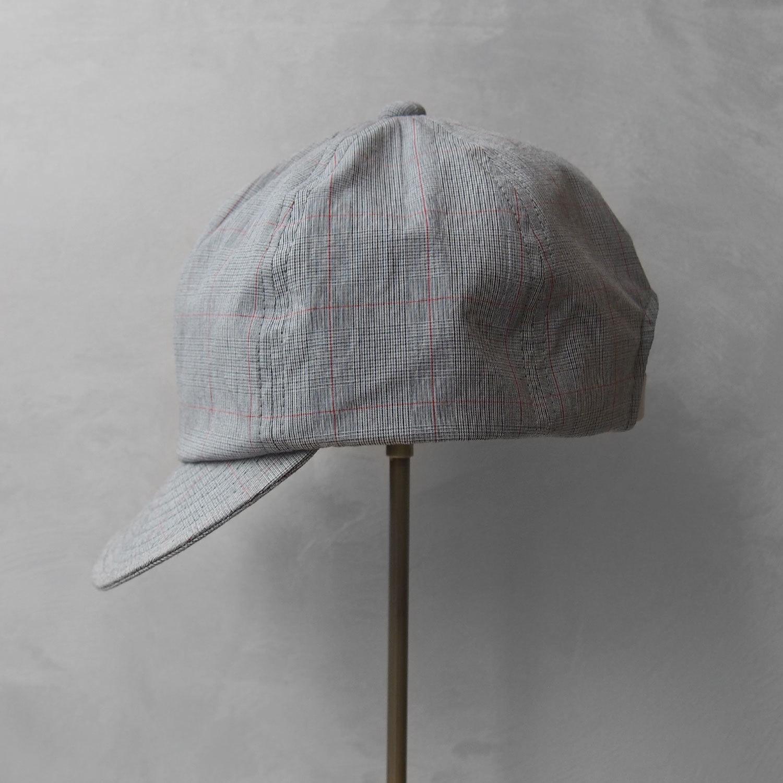 Nine Tailor Lymington cap Gray check