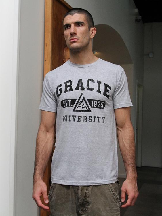 グレイシー柔術 Gracie University Tシャツ