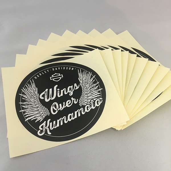 'Wings Over Kumamoto'熊本復興支援ステッカー