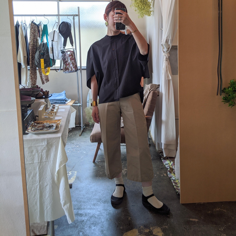 【 DanaFaneuil 】ダナファヌル  コットンリネン ガウチョパンツ / beige Msize