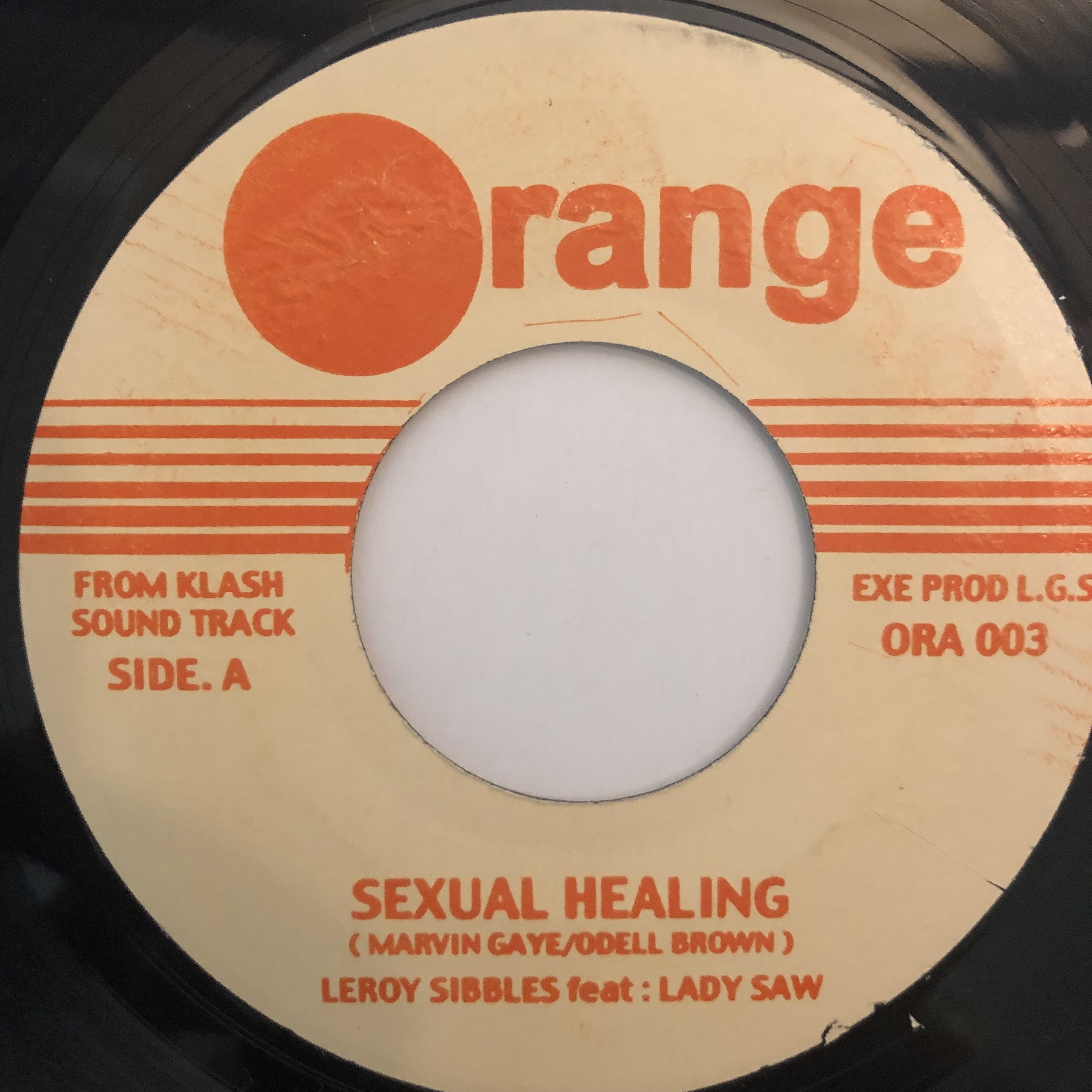 Leroy Sibbles, Lady Saw - Sexual Healing【7-20269】