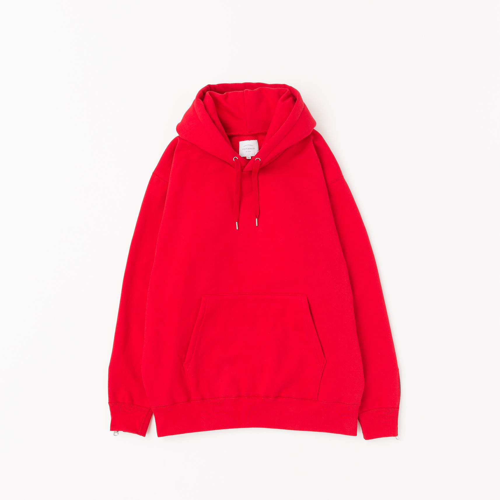 【VICTIM】HEAVY PULL OVER PARKA(RED)