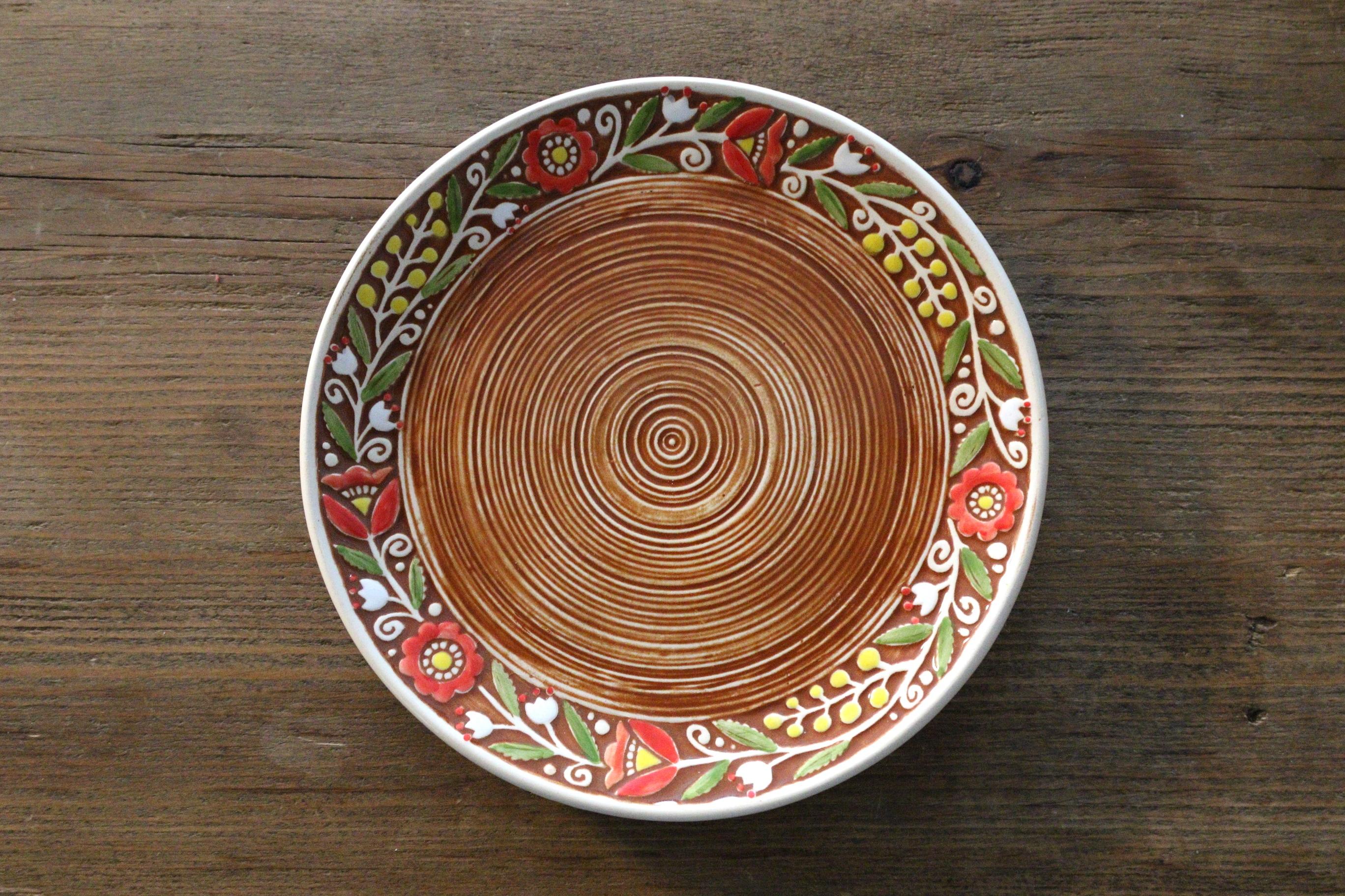 ウクライナ製平皿