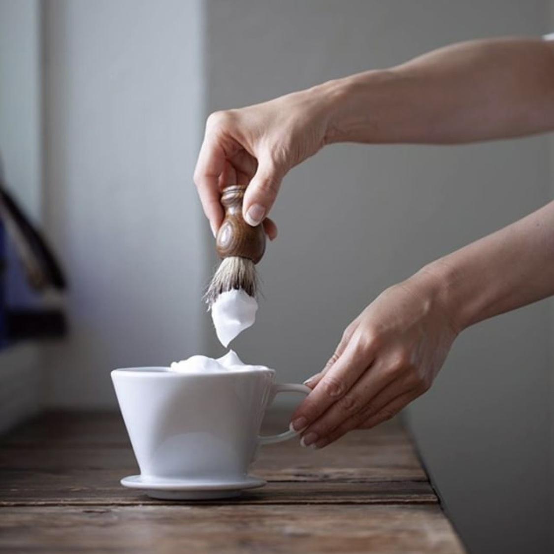 TONO dripper  shavingcup / トノドリッパーシェービングカップホワイト