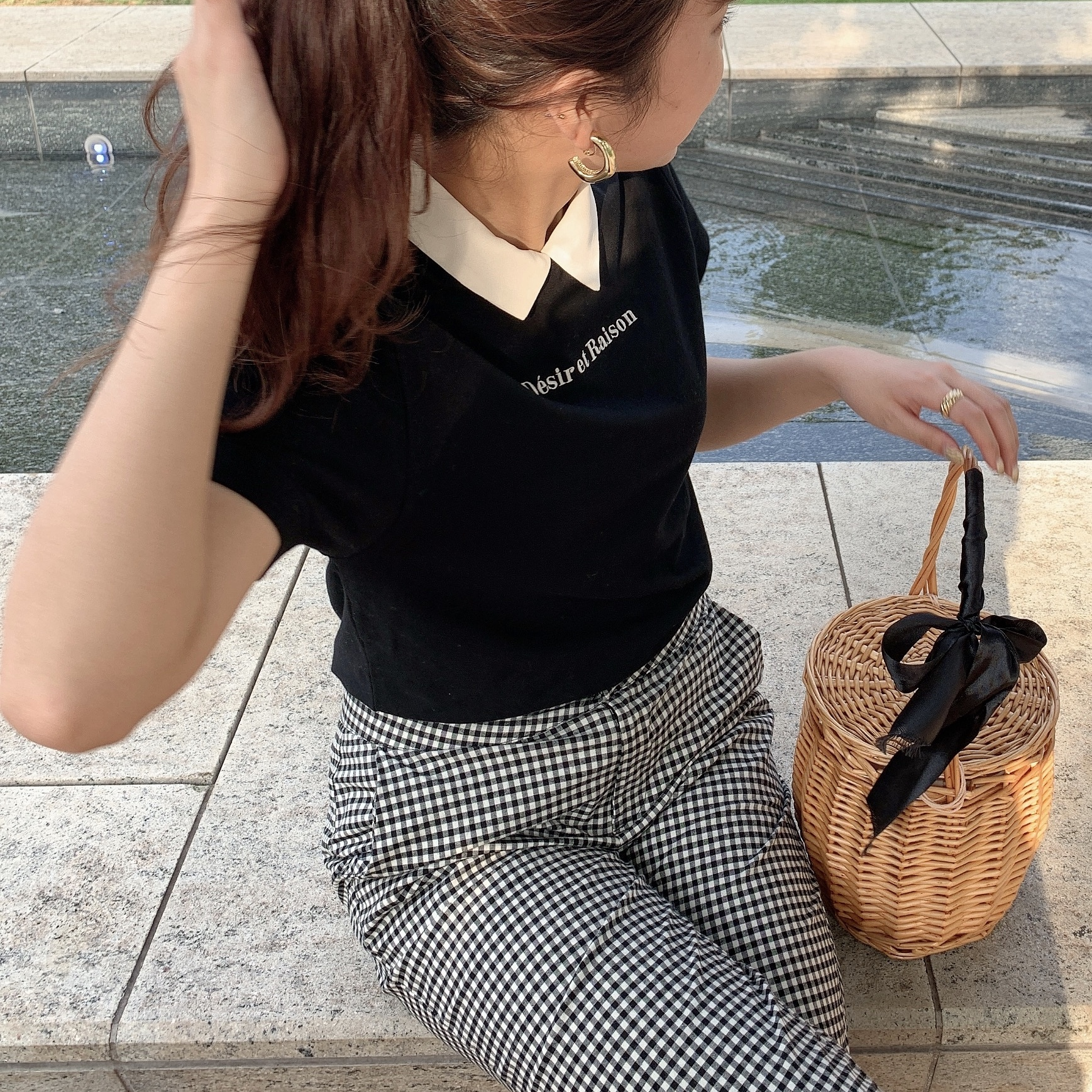 【Désir original】Tshirt & colour set