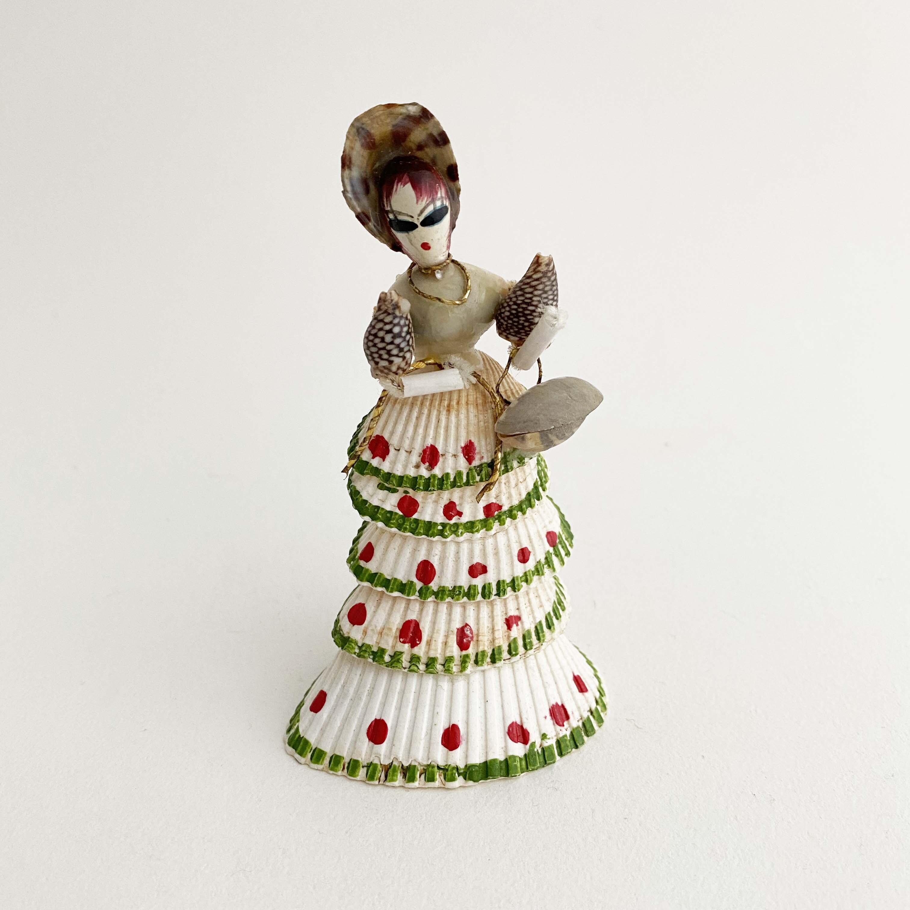 デッドストック昭和 貝人形お嬢さん(サルボウ貝)