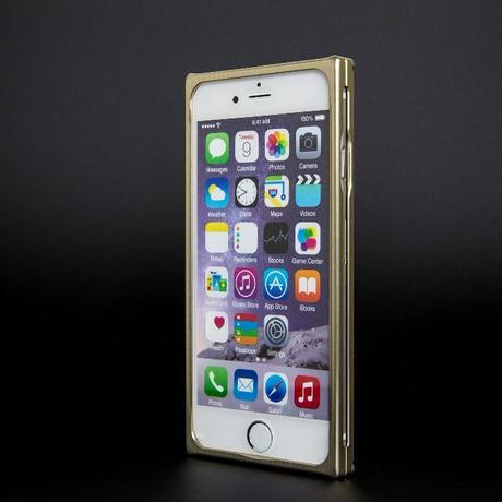 iPhone 6P/6s ジュラルミンケース シャンパン
