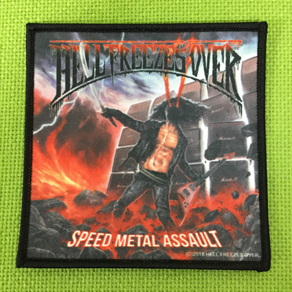 "HELL FREEZES OVER ""Speed Metal Assault"" プリントパッチ"