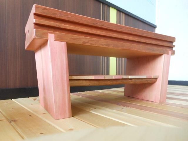 古材 ローテーブル03 - 画像2
