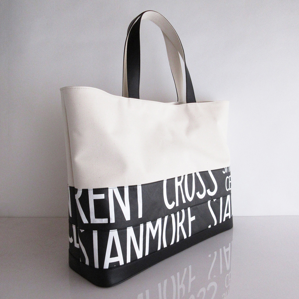 Tote Bag (L) / White  TLW-0010