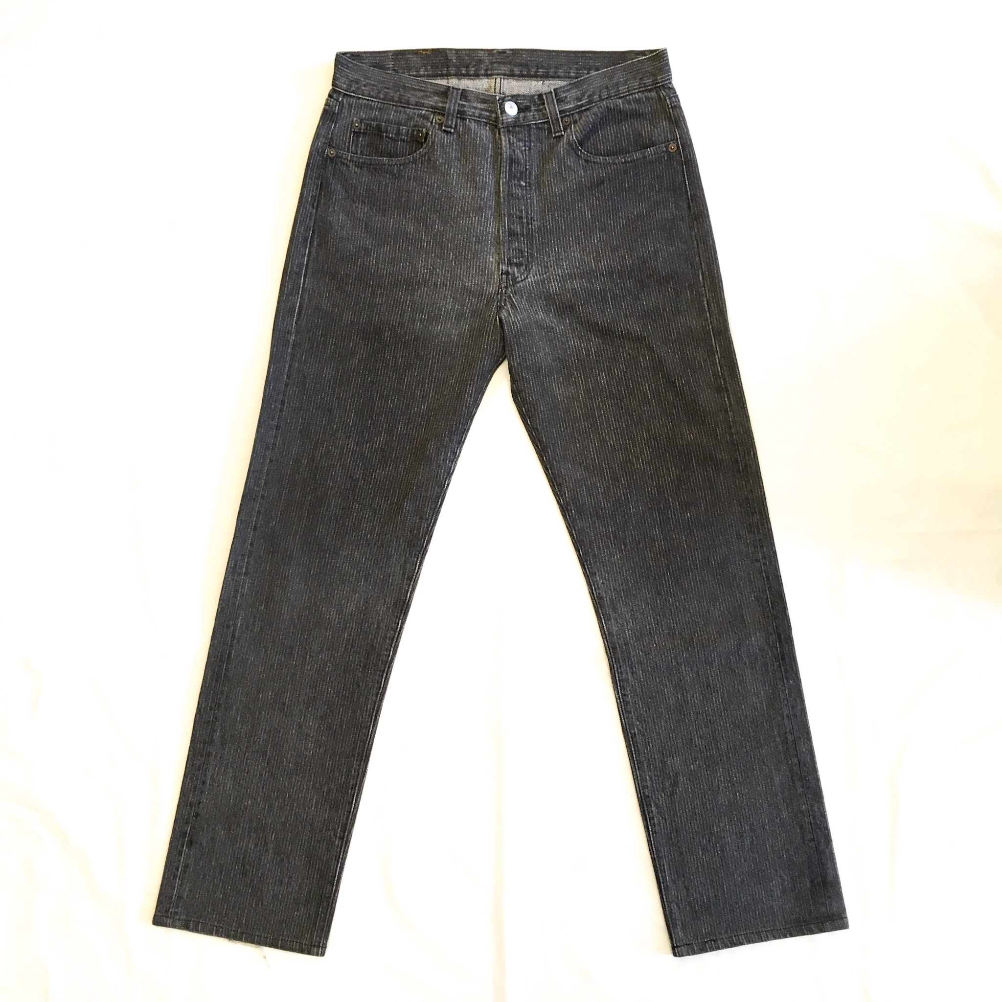 "Levi's 501 BLACK HICKORY  W 33 ""MADE IN USA"" <Used>"