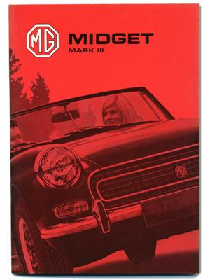 MG ミジェット MK3・ドライバーズ・ハンドブック