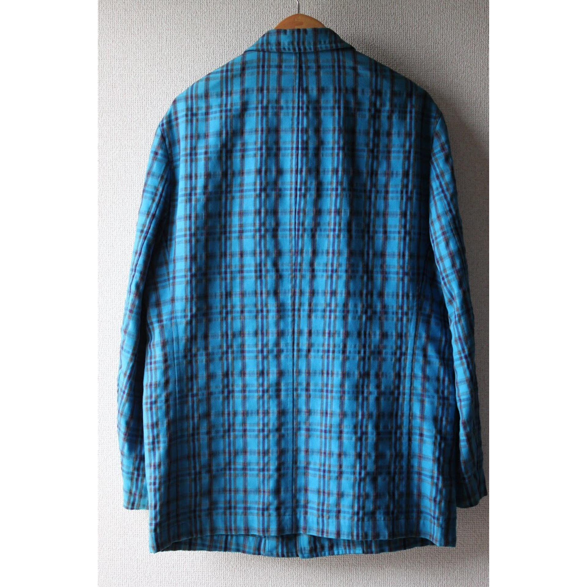Check tailored jacket by COMME des GARÇONS HOMME PLUS
