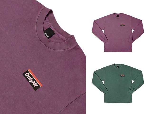ONLY NY|Subway Logo L/S Shirt