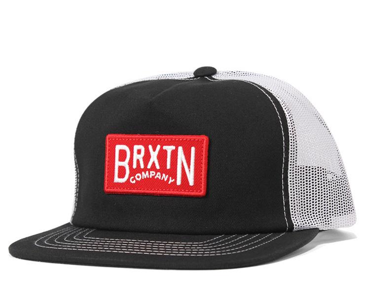 BRIXTON (ブリクストン) LANGLEY メッシュ キャップ BLACK / WHITE (ブラック / ホワイト)