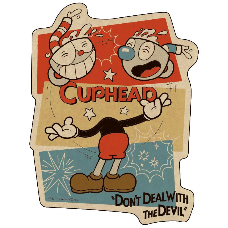 CUPHEAD ( カップヘッド )   トラベルステッカー (19)  / エンスカイ