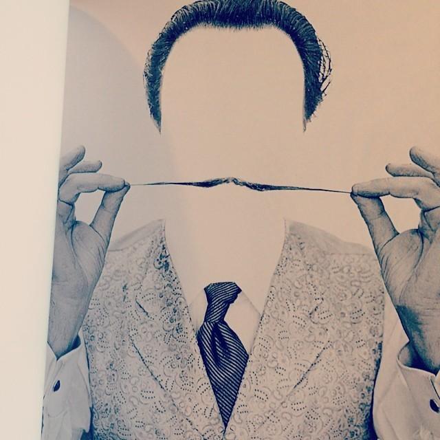 写真集「Dali's Mustache/Philippe Halsman」 - 画像3