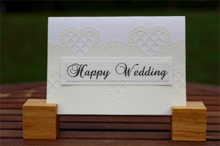 """Shiori のメッセージカード """"Happy Wedding""""_1"""
