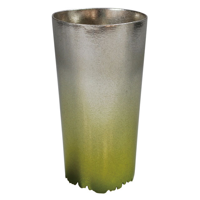 《シキカラーズ_タンブラーL》SHIKICOLORS Bright green Tumbler L