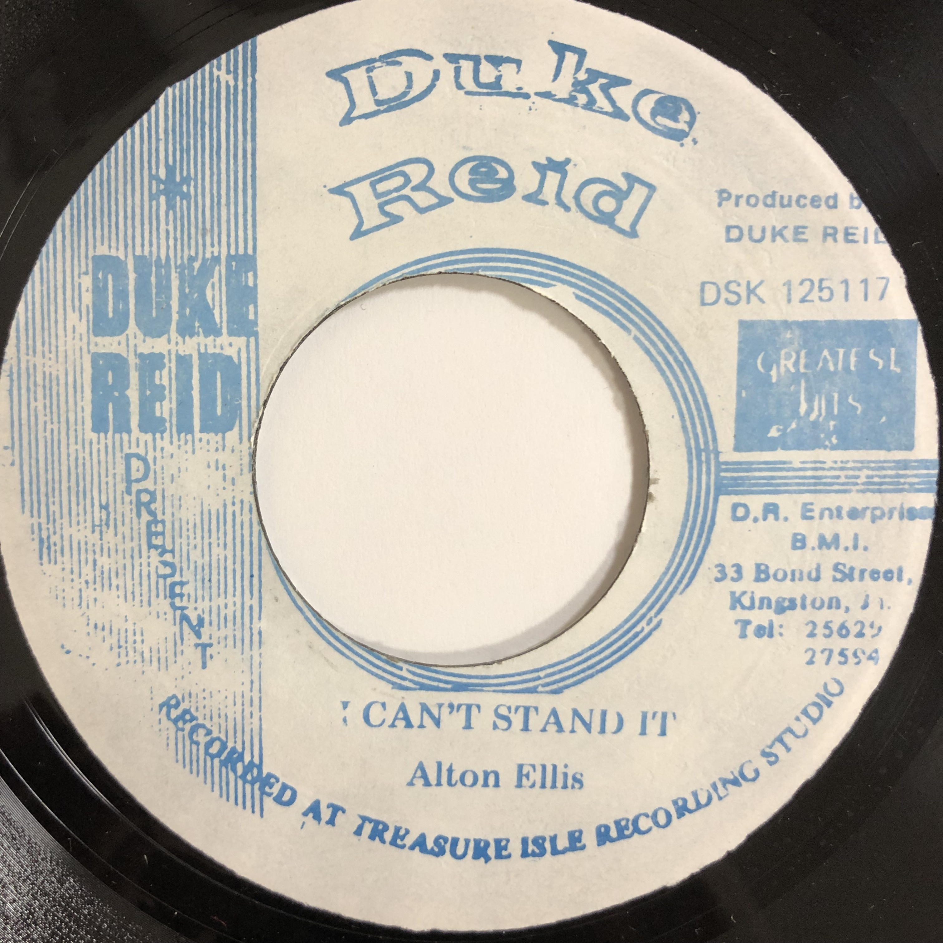 Alton Ellis(アルトンエリス) - I Can't Stand It【7-20197】