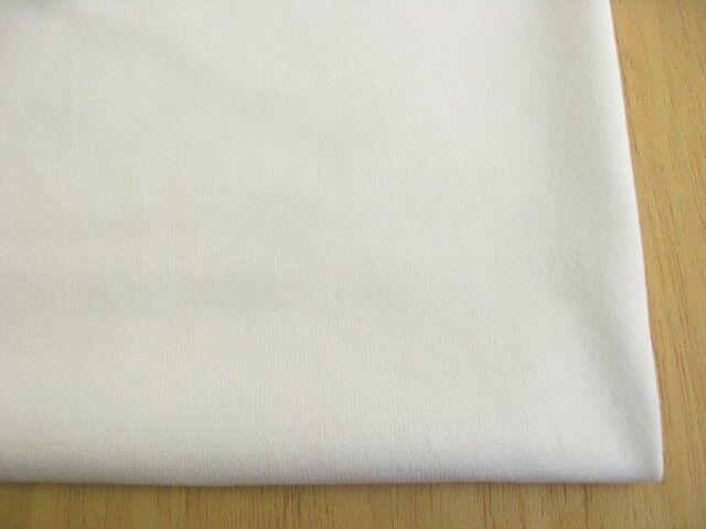 J&B定番 綿30双糸スーパー度詰天竺 オフホワイト #03 NTM-1376
